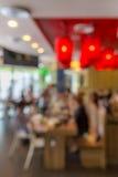 Caférestaurant-Unschärfehintergrund Stockbilder