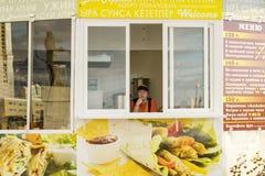 Cafés da rua Imagem de Stock