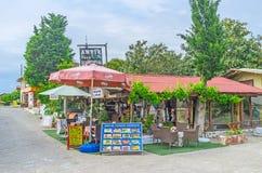 Cafés de côté Photo libre de droits