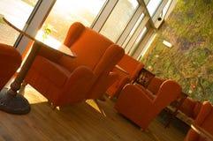 Cafétéria confortable image libre de droits