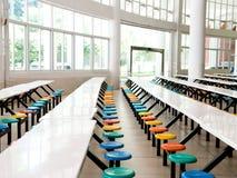 Cafétéria d'école photos stock