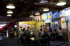 Cafétéria Granville Island du marché des enfants Image libre de droits