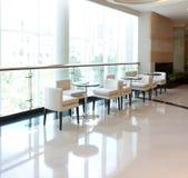 яркий отдых caf крытый Стоковая Фотография RF