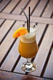 Café avec de l'alcool Images libres de droits