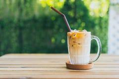 Caf? congelado do latte fotos de stock