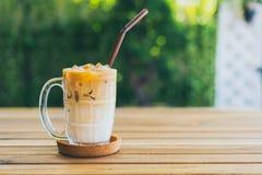 Caf? congelado do latte imagem de stock royalty free