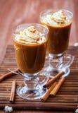 Café d'épice de potiron Images libres de droits