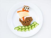 Café da manhã bonito da manhã Imagens de Stock