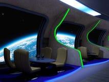 Café de l'espace Image libre de droits