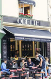 Café de rue de Paris Photographie stock