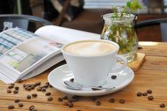 Café de thé d'après-midi Image stock