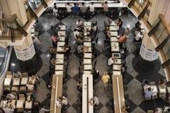 Café de Wifi, Sydney CBD Photos libres de droits