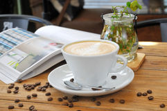Café del té de tarde Imagen de archivo