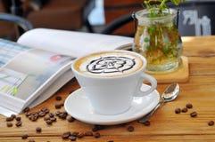 Café del té de tarde Foto de archivo libre de regalías