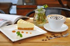 Café del té de tarde Imágenes de archivo libres de regalías