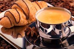 Café do café da manhã Fotografia de Stock Royalty Free