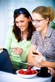 Café do Internet Fotografia de Stock Royalty Free