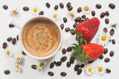 Café do verão Imagens de Stock Royalty Free