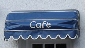 Café Entrance. Stock Photo