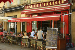 Café in France Stock Images