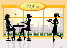 Cafè Royalty Free Stock Images