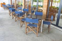 Café-Möbel Stockbild