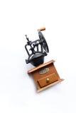 Café-moulin manuel Image libre de droits