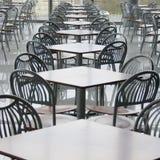 Café in shopping center Stock Image