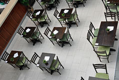 Café in shopping center Royalty Free Stock Photo