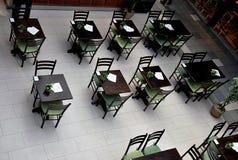 Café in shopping center Royalty Free Stock Photos