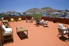 Café terrace Stock Photos