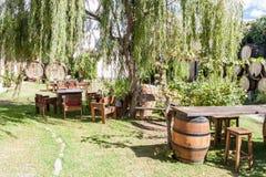 Free CAFAYATE, ARGENTINA - AUG 6, 2015: Garden Of Winery Bodega Nanni In Cafayat Stock Photography - 131472512