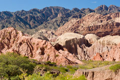 Cafayate, Northern Argentina Royalty Free Stock Photos