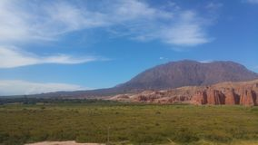 Cafayate Salta Αργεντινή Los Colorados στοκ εικόνες