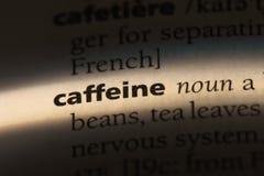 cafeína imagen de archivo libre de regalías
