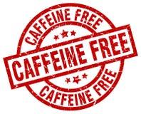 Cafeïne vrije zegel royalty-vrije illustratie