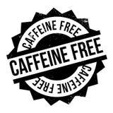 Cafeïne vrije zegel stock foto's