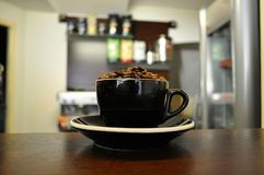 cafe Royaltyfria Foton