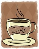 Cafe stock illustration