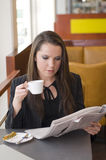 The cafe Stock Image