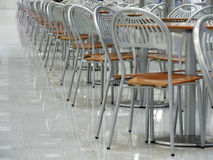 Cafe. Chairs royalty free stock photos