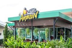 Cafe Amazon coffee shop Stock Image