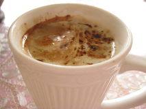 Cafe au lait for breakfast Royalty Free Stock Photography