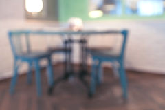 Cafe background. Cafe blured background in bokeh Royalty Free Stock Photo