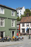 Cafe Bakklandet Trondheim Royalty Free Stock Photography