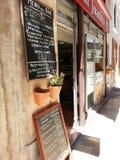 A cafe bar Royalty Free Stock Photos
