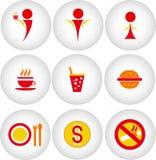 Cafe, bar, restaurant icon Royalty Free Stock Photo