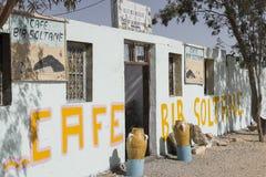Cafe Bar Soltane Stock Photo