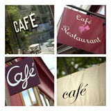 Cafe and bistro Stock Image