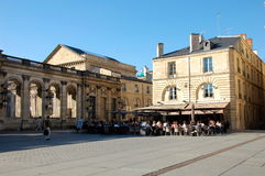 Cafe in Bordeaux, France Royalty Free Stock Photo